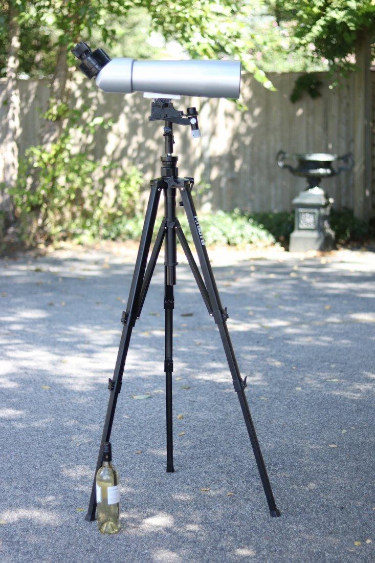 Pair of Precision Big Eye Binoculars - 4