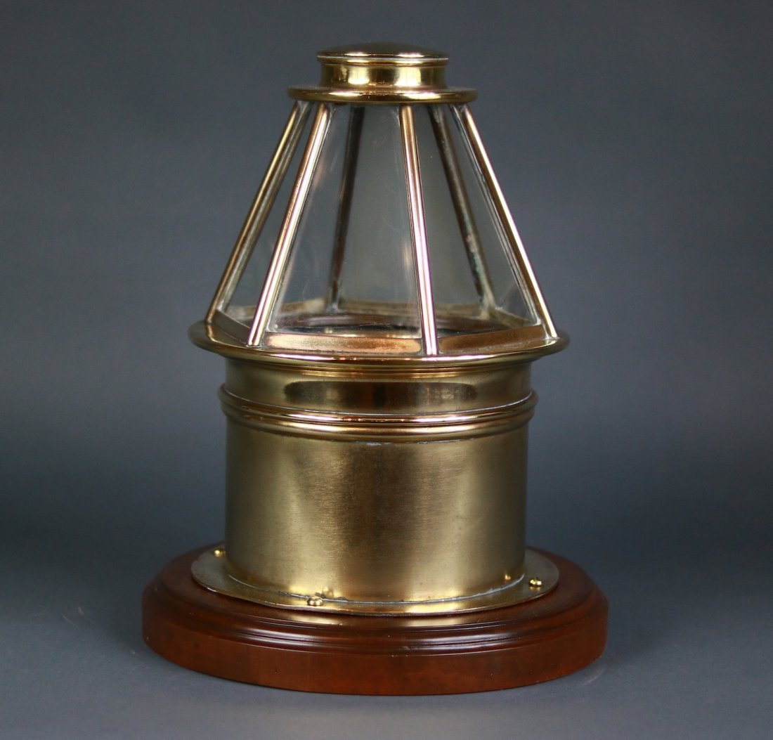 Skylight Yacht Binnacle of Brass