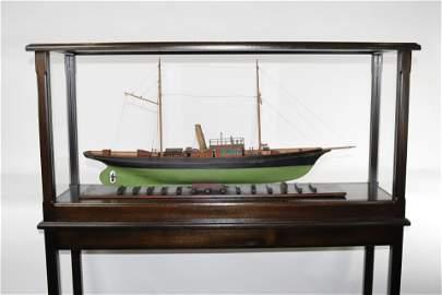"""Ariadne"" Steam YachtModel"