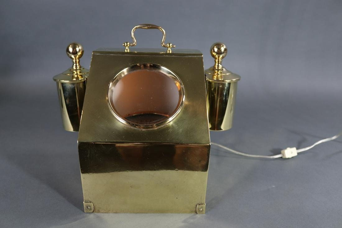19TH CENTURY YACHT BINNACLE