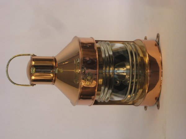 1003: Copper masthead lantern.