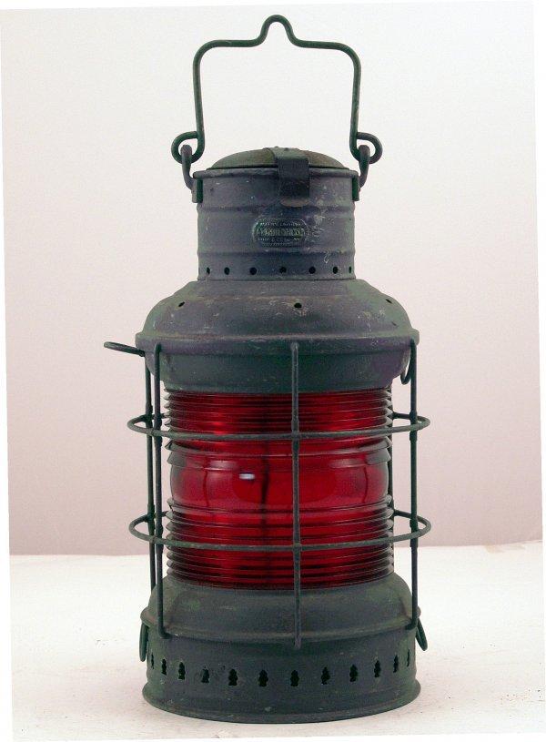 1004: Ship's distress lantern.