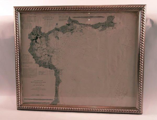 1009: 19th Century Chart/Boston