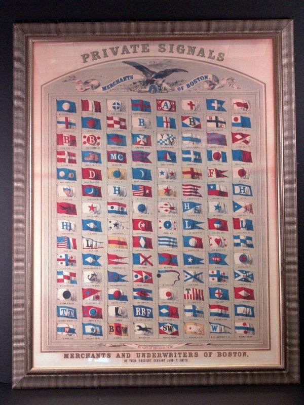 1013: Merchant's of Boston Lithograph