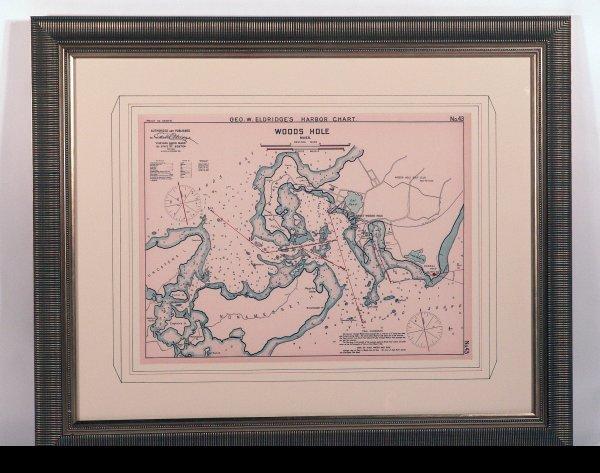 1019: Chart of Woods Hole, MA