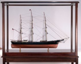Exceptional Model Of The American Clipper Ship So