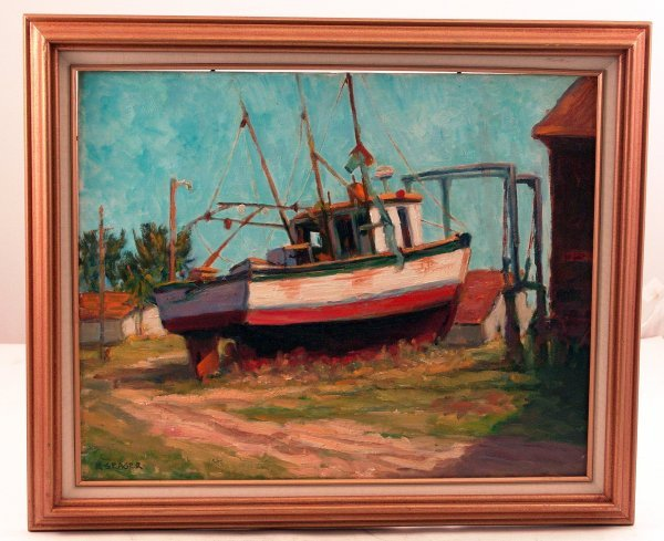 1082: Oil on Board of a Fishing Vessel