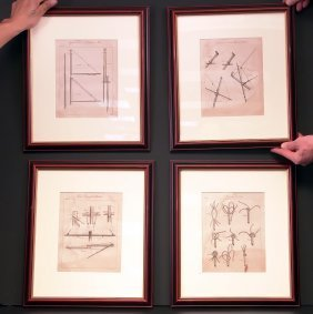 Four 19th Century Rigging Prints.
