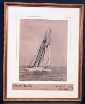 "Photo Of Schooner ""Elizabeth Howard""."
