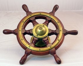 Early Yacht Wheel