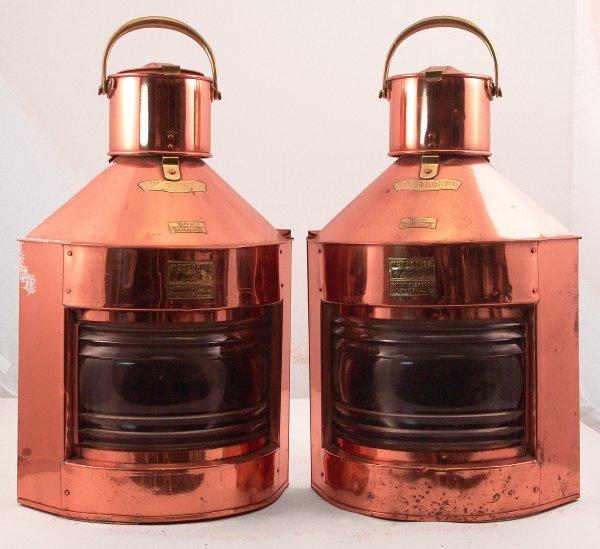 1107: Meteorite port and starboard lanterns.