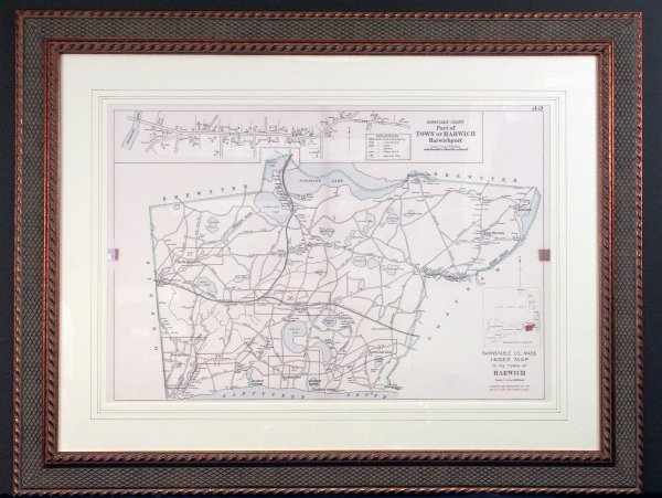 1109: Harwich, MA map