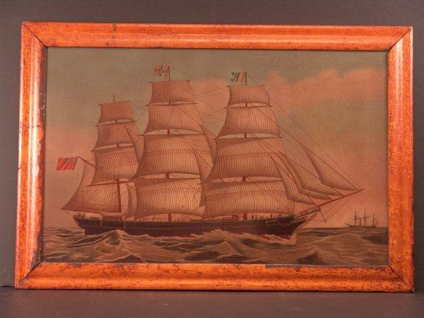 1112: 19th Century Portrait of a Clipper
