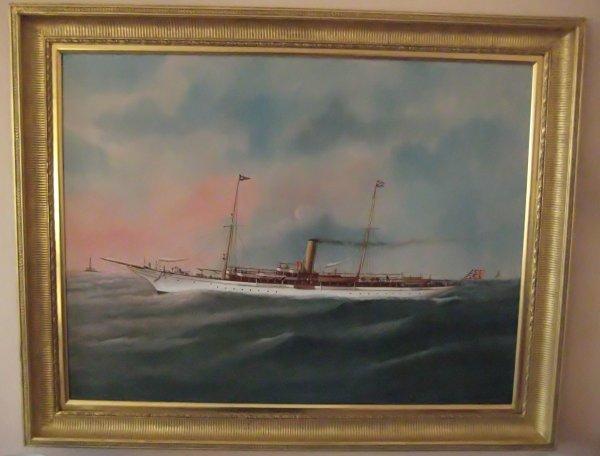 "1144: Steam yacht ""Venetia""."