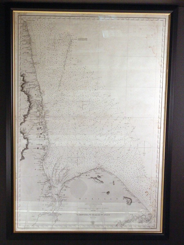 1159: 1856 chart of the west coast of India.