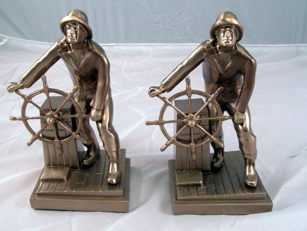 1274: Gloucester Fisherman Bookends