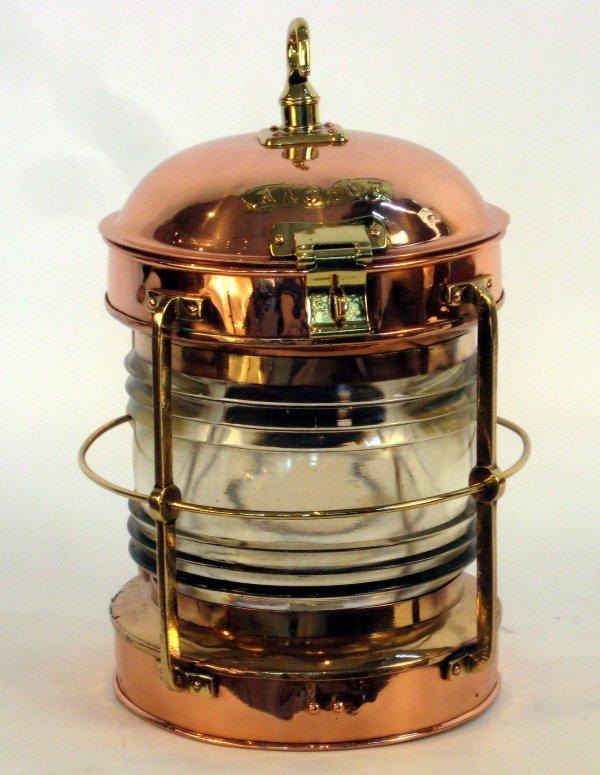 1117: Copper Anchor Lantern