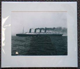 1115A: Original Lusitania Photograph.