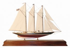 "Schooner Yacht ""Atlantic"" Model"