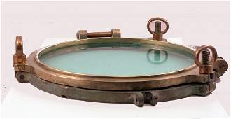 2236 Heavy solid brass porthole
