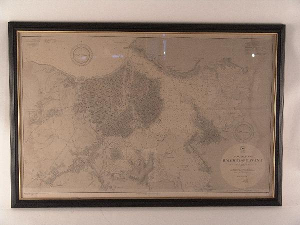 1064: Rare chart of Cuba and West Indies