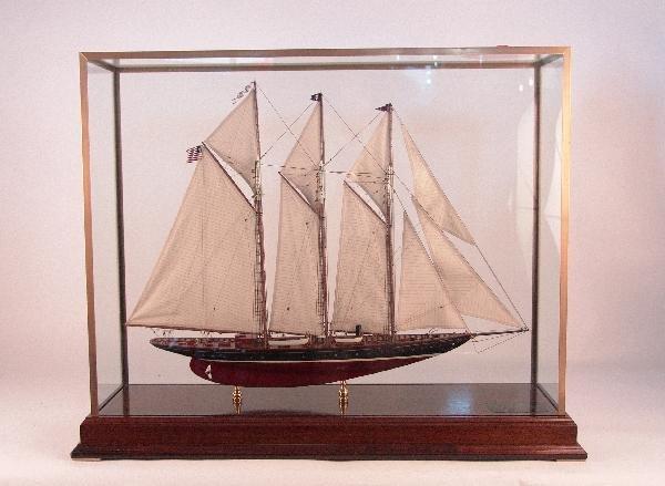 1069: Schooner model, Atlantic