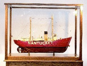 Detailed Model Of The Nantucket Lightship