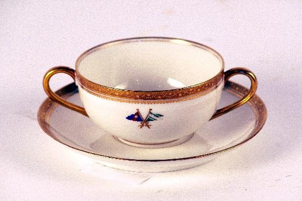 1095: New York Yacht Club cup and saucer