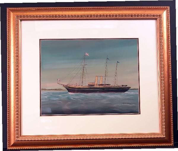 1097: His Majesty's Yacht Alexandra, 1908, H.M.P.C