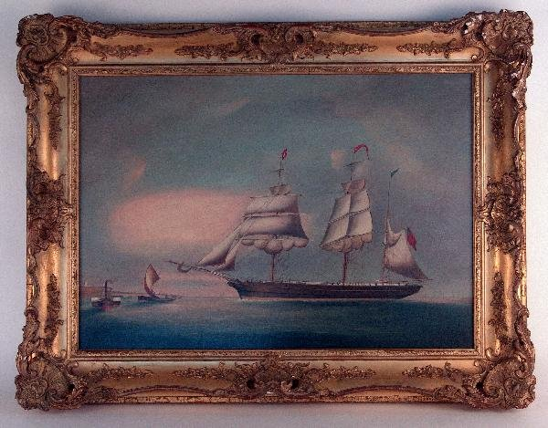 1103: Early English port painting
