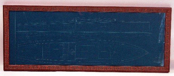 1105: 1920 Long Island Speedboat Blueprint