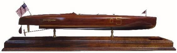 "1116: Gold Cup winning speedboat model ""Baby Bootlegger"