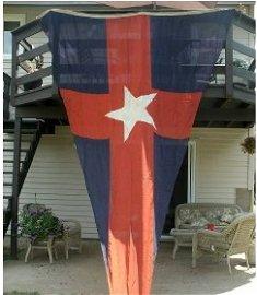1207: New York Yacht Club pennant flag