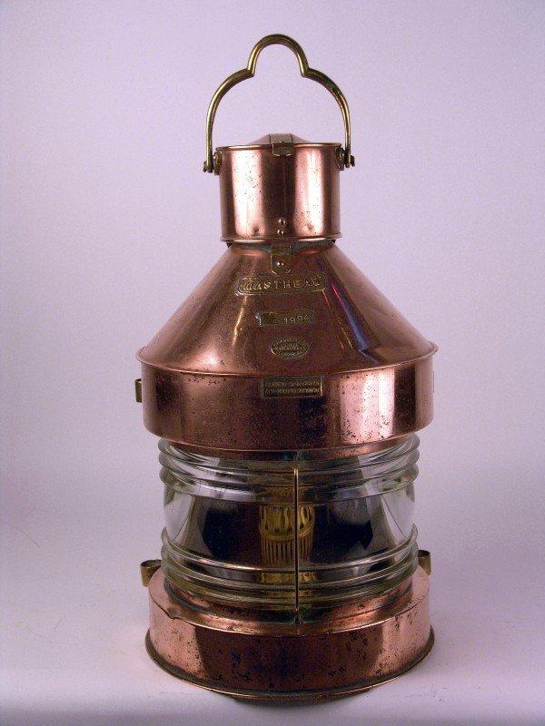 1010: Copper and brass masthead lantern