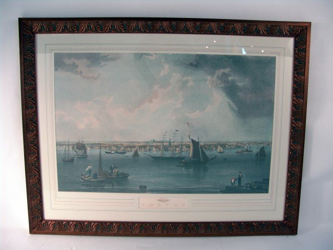 1018: Boston Harbor Print