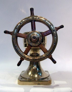Yacht Wheel From 1894.