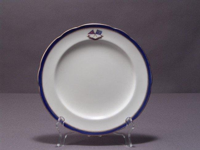 """1061: 9"""" Flagship Corsair Luncheon Plate."""