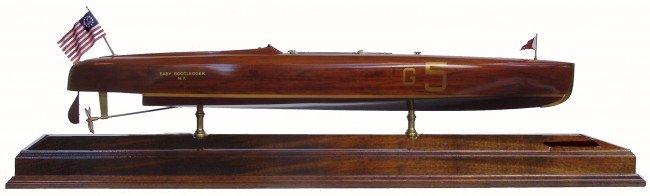 "1066: Gold Cup winning speedboat model ""Baby Bootlegger"