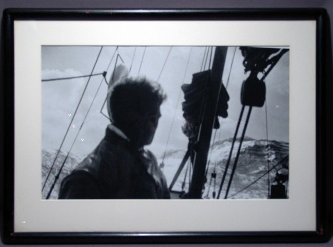 1069: Photo of Yachtsman Rod Stevens