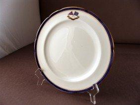 """9"""" Flagship Corsair Luncheon Plate."""