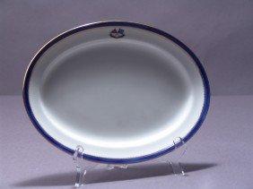 "11"" Oval Flagship Corsair  Serving Platter"