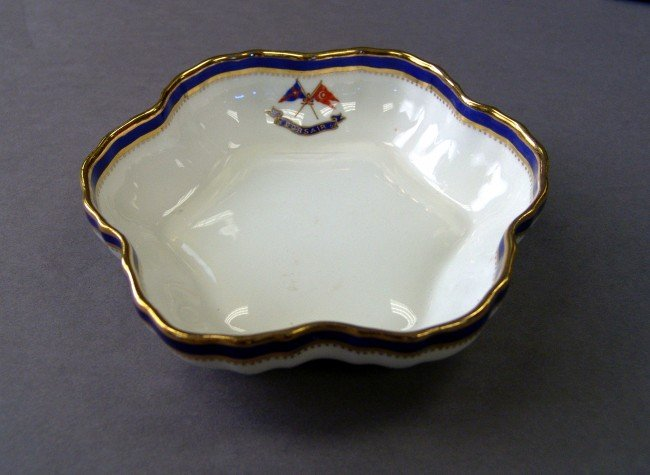 1133A: Mintons scalloped candy dish from Corsair