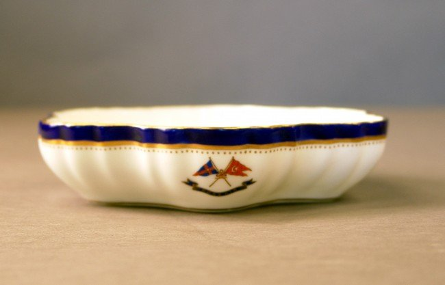 1149: Scalloped Candy dish from Corsair
