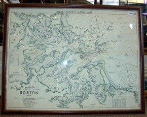 1005A: Boston Harbor Chart