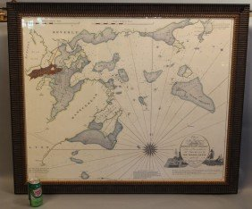1004: Chart of Marblehead, Salem and Manchester