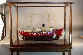 Detailed Model Of The Nantucket Lightship