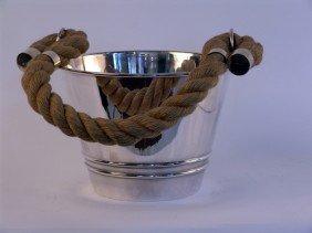1008: Solid Silver Ice bucket