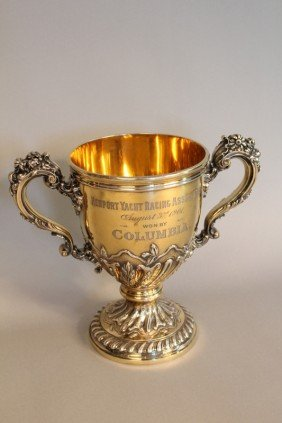 Silver Trophy From Columbia Of 1901
