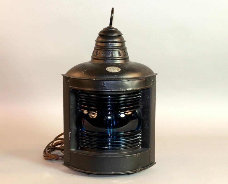 2: Steel ship lantern by Perko.