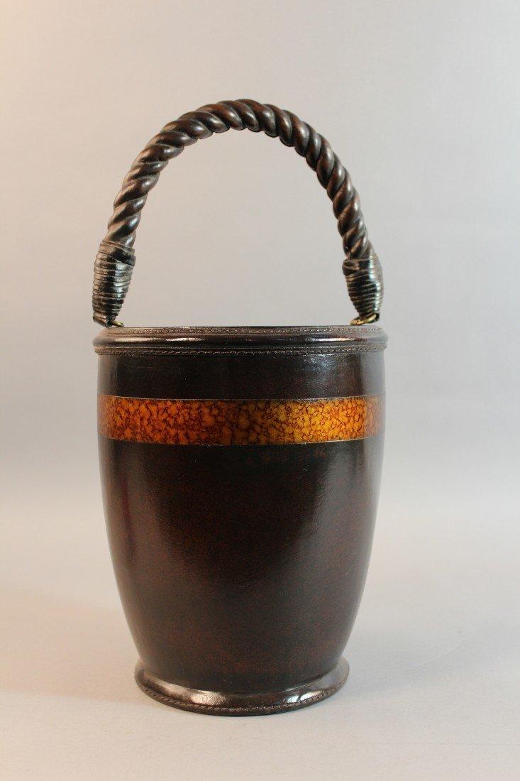 6: Leather Fire Bucket